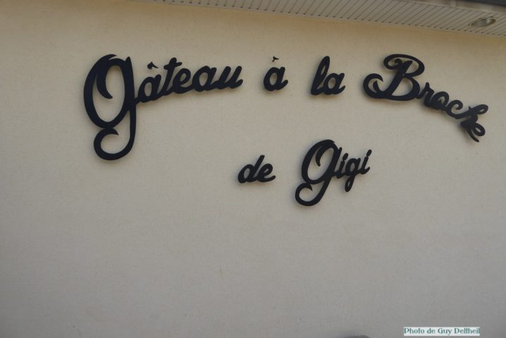 Aveyron-Le gâteau à la broche de Gigi