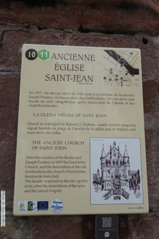 Aveyron-Espalion-Ancienne Eglise St Jean