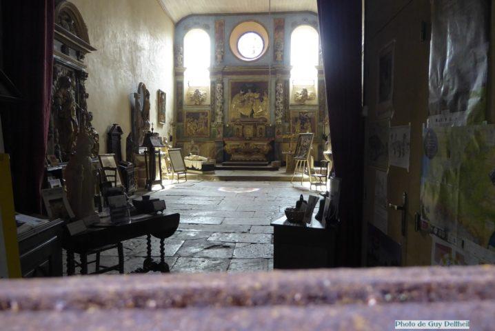 Aveyron-Espalion-Chapelle des Pénitents Blancs