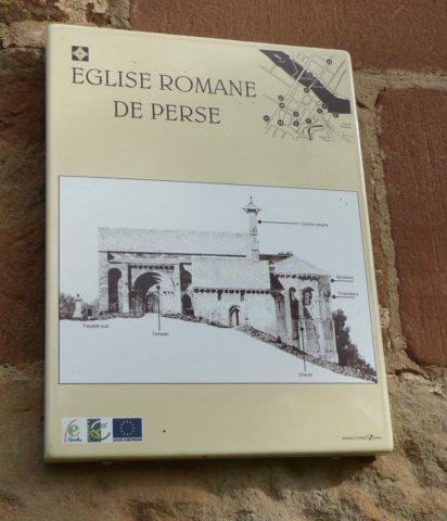 Aveyron-Espalion-Eglise de Perse