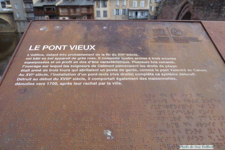Aveyron-Espalion-Le Pont Vieux-Les tanneries