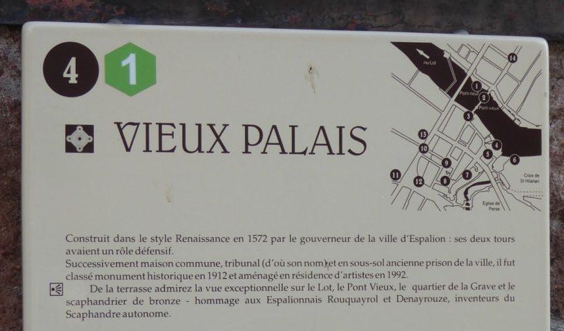Aveyron-Espalion-Le Vieux Palais