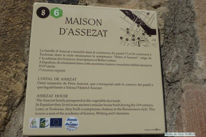 Aveyron-Espalion-Maison Assézat