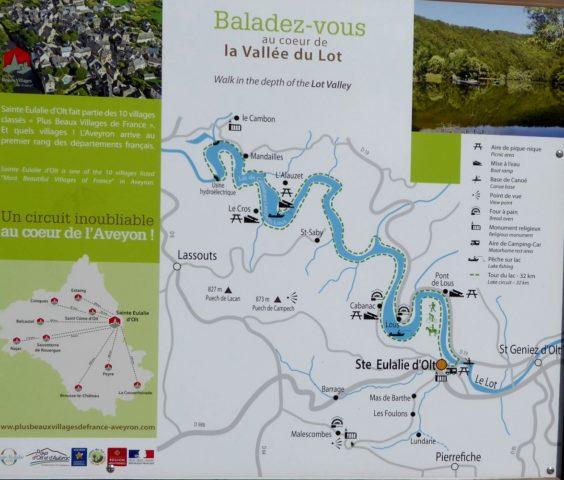 Aveyron-Ste Eulalie d'Olt- La Ville