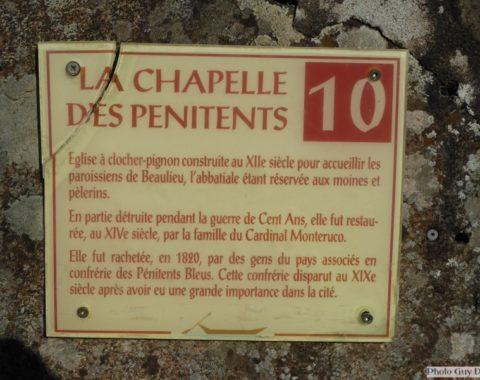 Beaulieu sur Dordogne Chapelle des Pénitents