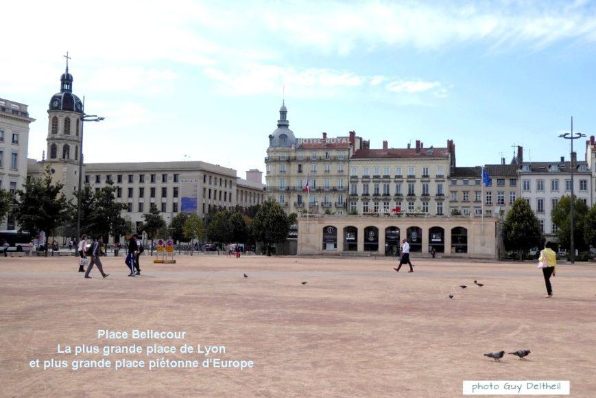 Vieux Lyon-PLace Bellecour
